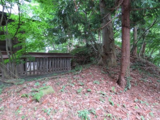 Tendo, Japonia: 破壊された物見櫓台