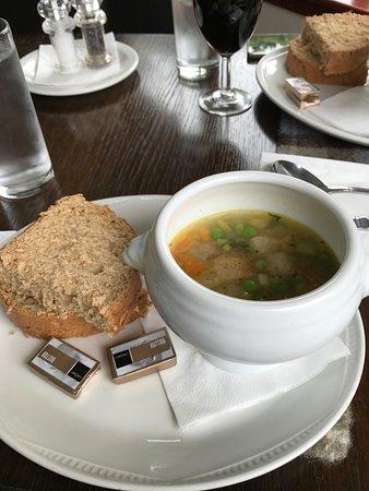 Tarbert, UK: La zuppa di verdure