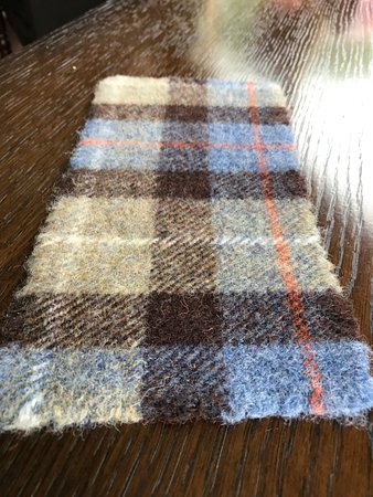 Tarbert, UK: Tovaglietta in Harris Tweed
