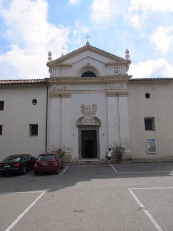 Monte Argentario, Italy: La facciata della chiesa