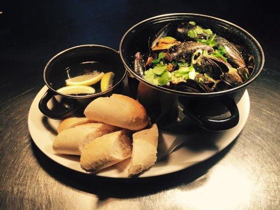 Rustington, UK : Mussels