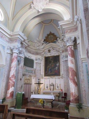 Monte Argentario, Italy: L'abside della chiesa