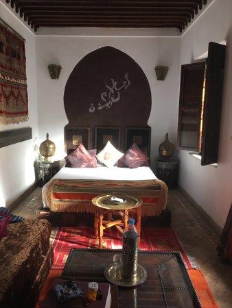 Riad La Porte Rouge : La chambre