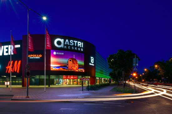 Narva, Estonie : Astri Keskus shopping center