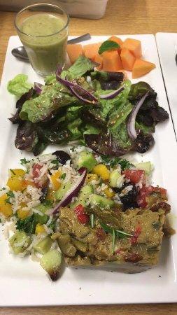 Savonnieres, Frankrijk: La grande assiette du jour (vegan)