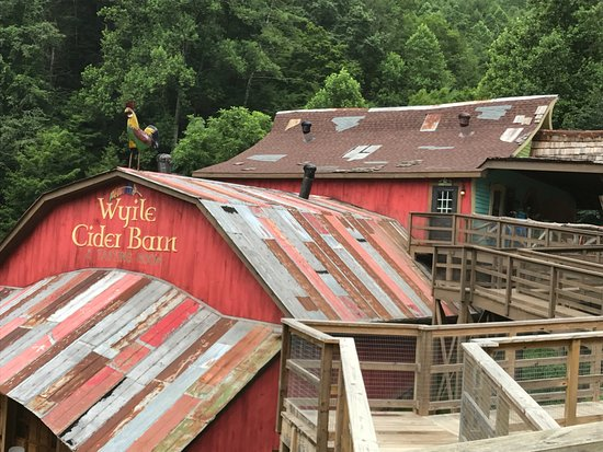 Foxfire Mountain Adventures:  Foxfire Mountain's Wyile Cider Barn