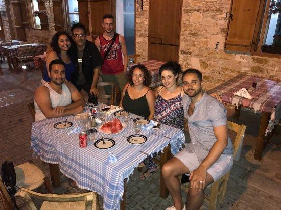 Kalavasos, Cyprus: Kyri with nice company )