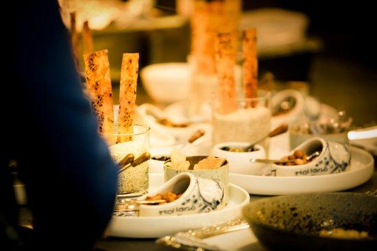 Schipluiden, Holland: aperitiefgarnituur