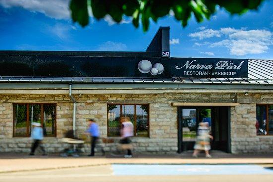 Fama center and restaurant Narva Pärl