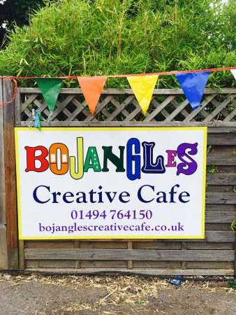 Bojangles offers Pottery painting and is a great place for