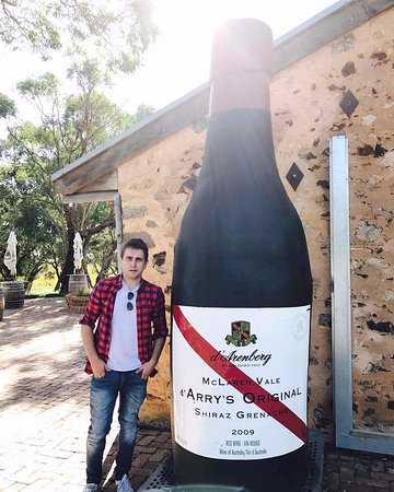 McLaren Vale, Austrália: If only I could take the bottle home!