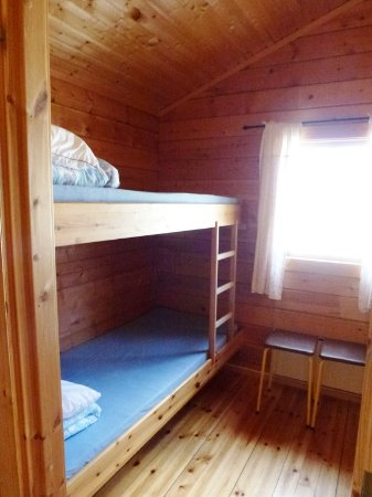Vadso Municipality, Norway: Schlafzimmer Stockbetten