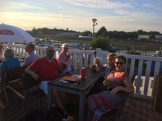 Littlehampton, UK: typical Friday tapas evening