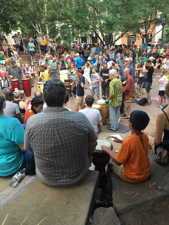 Asheville Drum Circle Photo