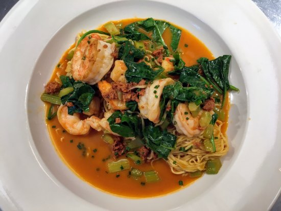 Leonardtown, MD: Cioppino with house made angel hair pasta