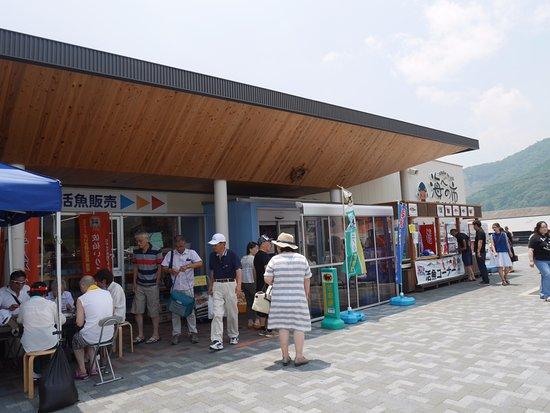 Saiki, Japan: 建物前の風景
