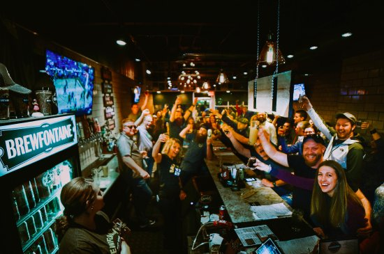 Bellefontaine, OH: Celebrating being voted #1 beer bar in Ohio!