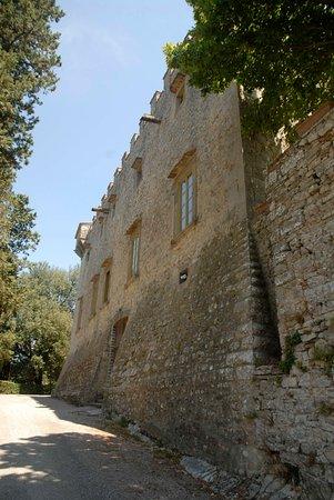 Gaiole in Chianti, Italy: murata del castello