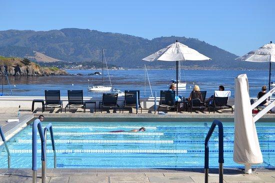 The Lodge At Pebble Beach Club Beautiful Pool Views