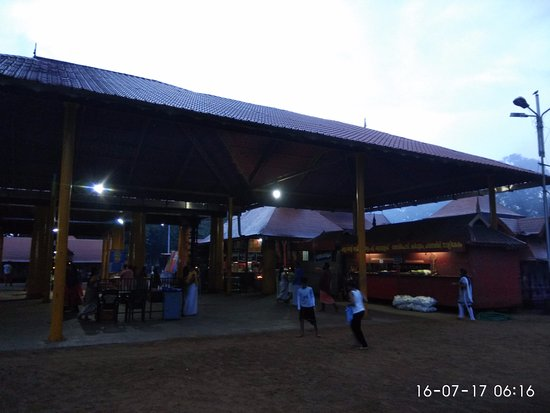 Kodungallur, India: Early morning view of the temple