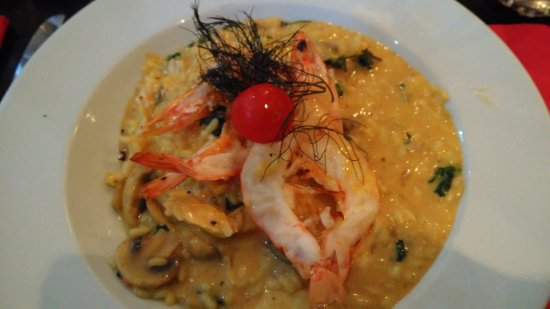Selby, UK: Special order risotto