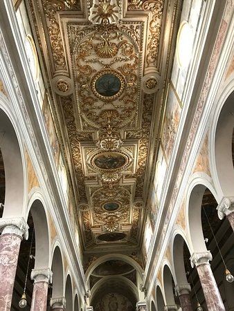 San Miniato, Italy: Nice ceiling