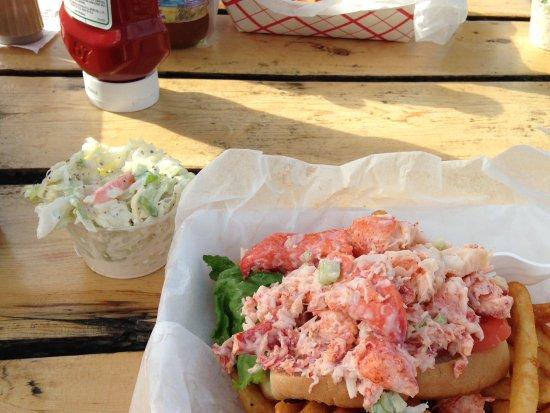 Dennis, MA: Lobster roll