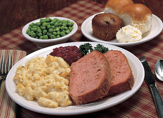 Lewisburg, PA: Our Tuesday daily feature is hamloaf served with our famous macaroni & cheese.