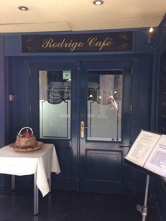 Rodrigo Cafe : Entrada