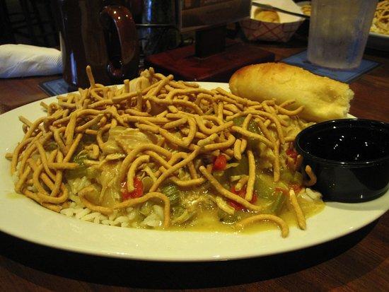 Shortstop Bar Fridley: Chicken Chow Mein Special