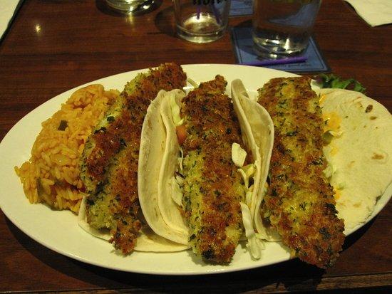 Shortstop Bar Fridley: Fish Tacos