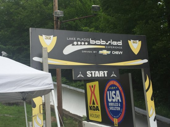 Bobsled and Luge Complex: Start of the summer bobsled experience