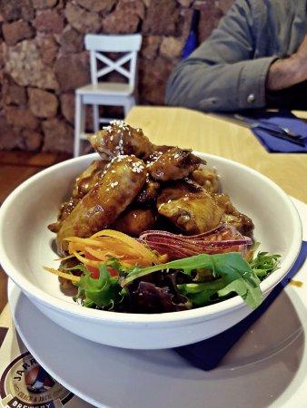 Pemberton, أستراليا: Chicken Wings