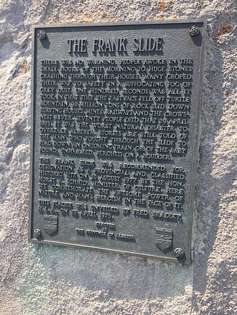 Crowsnest Pass, Canada: Frank Slide Interpretive Centre