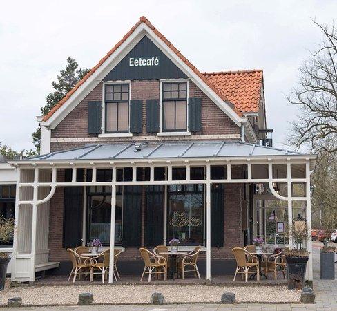 Dieren, Países Bajos: Overdekt terras zijkant
