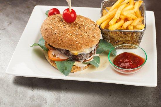 Metzeral, Fransa: Burger au Munster