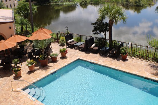 Sebring, FL: View from balcony rooms