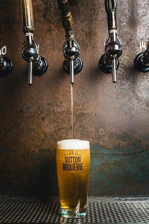 Sutton, Canada: Bière maison