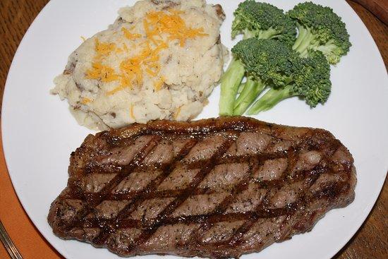Hermann, MO: Ribeyes and Smoked Strip Steaks!