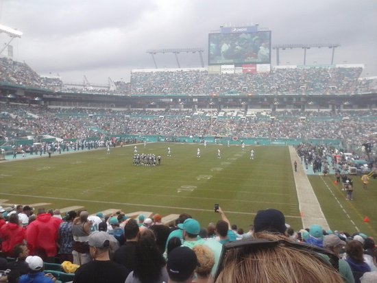 Miami Gardens, FL: two years ago cowboys at dolphins