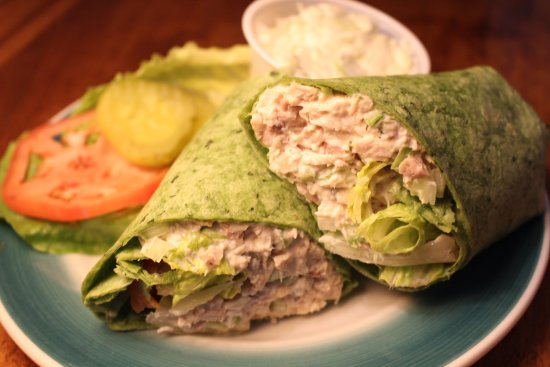Windham, NY: Homemade Chicken Salad Wrap