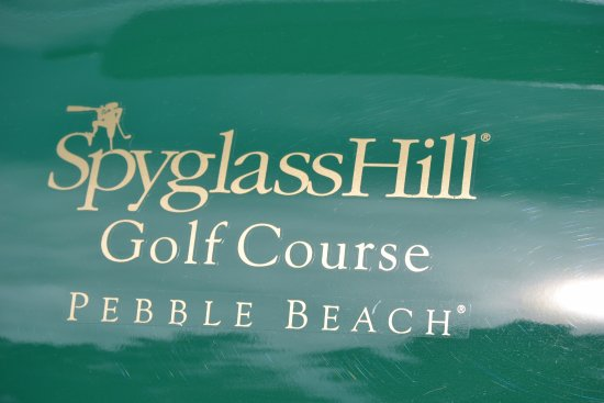 Pebble Beach, CA: Spyglass Hill...a very challenging course.