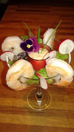 Le Cinquieme Element: Cocktail de crevettes