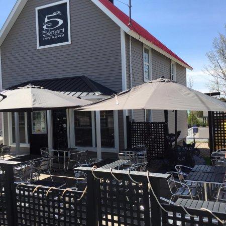Compton, Канада: Devant du restaurant