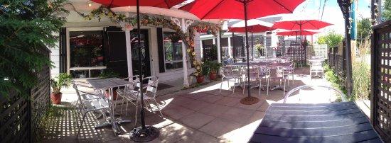 Compton, Канада: Terrasse du restaurant