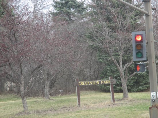 New Brighton, MN: Sign from Silver Lake Road