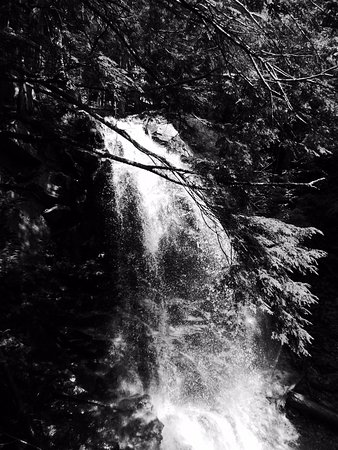 Γουίλμινγκτον, Νέα Υόρκη: Another shot of a waterfall at the guided tour on the bottom of Whiteface mountain