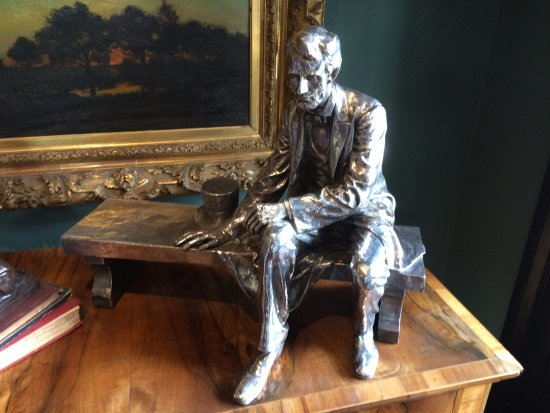 Darrow, LA: Honest Abe, untarnished from the years...