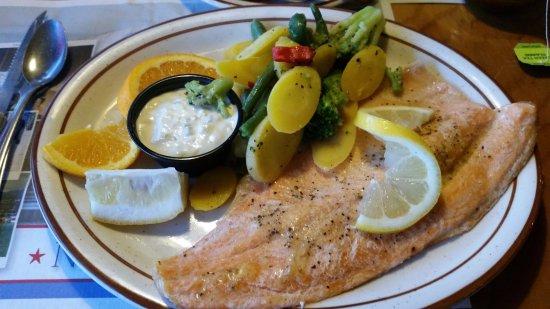 Foster's Family Steak House : filetto di pesce