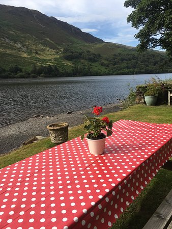 Trefriw, UK: The Lake Crafnant Cafe